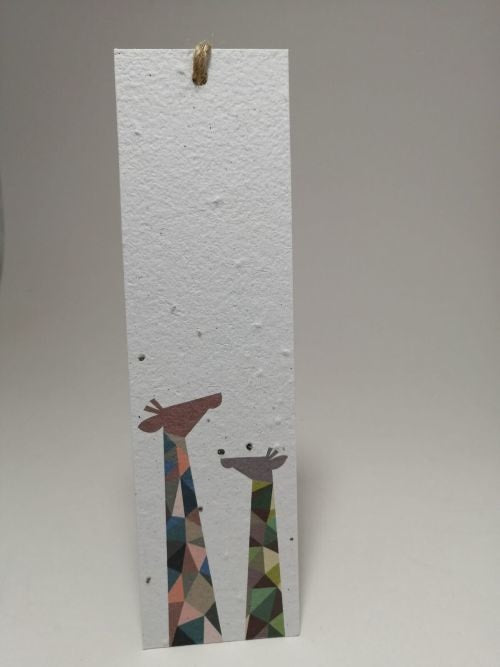 Growing Paper - Bookmark - Giraffe