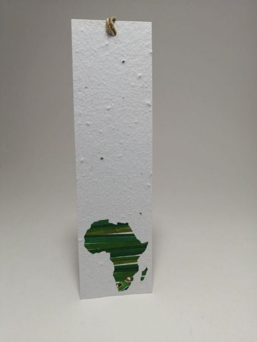 Growing Paper - Bookmark - Africa