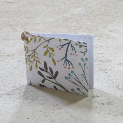 Growing Paper - Gift Tag - Single - Plants