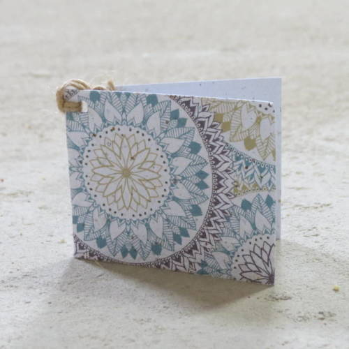 Growing Paper - Gift Tag - Single - Kaleidoscope