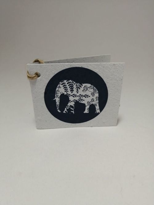 Growing Paper - Gift Tag - Single - Elephant