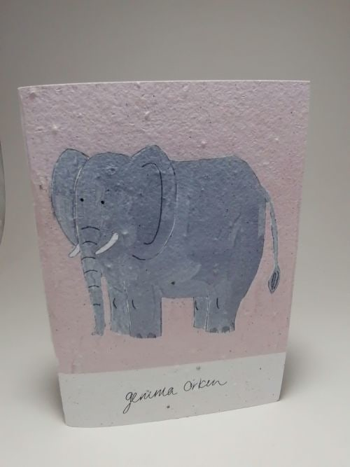 Growing Paper - Note Book - Elephant
