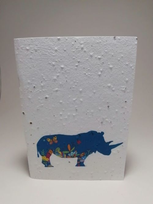 Growing Paper - Note Book - Rhino