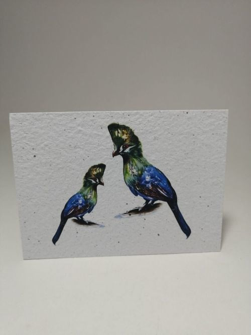 Growing Paper - Post Card - Birds