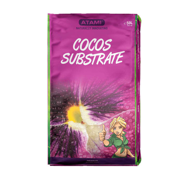 Atami Cocos Substrate 50L Bag - Hydroponic Growing Medium
