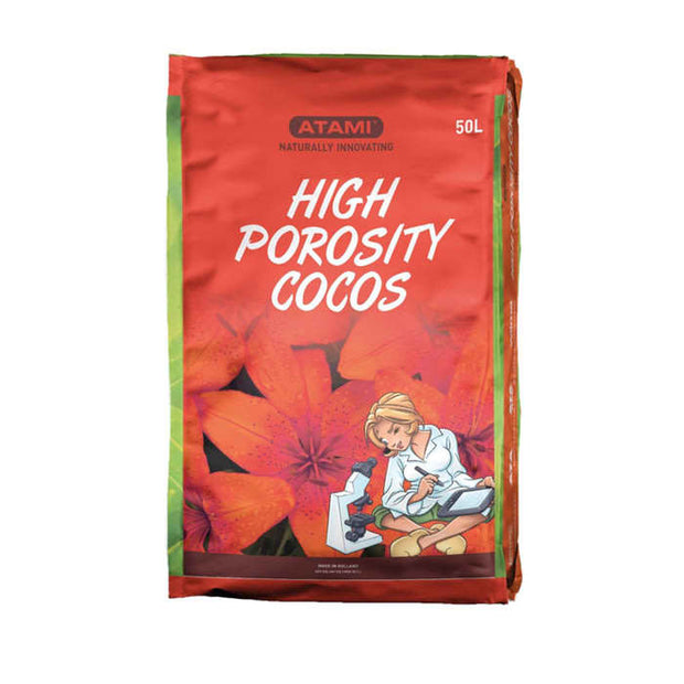 Atami High Porosity Cocos 50L Bag - Hydroponic Growing Medium
