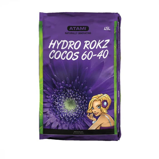 Atami Hydro Rokz Cocos (60/40) 45L Bag - Hydroponic Growing Medium