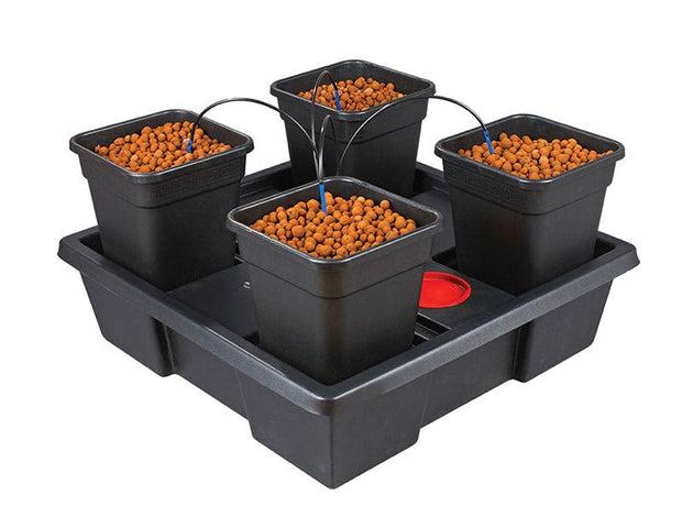 Wilma Hydroponic System - With Pots, Tray & Kit Box