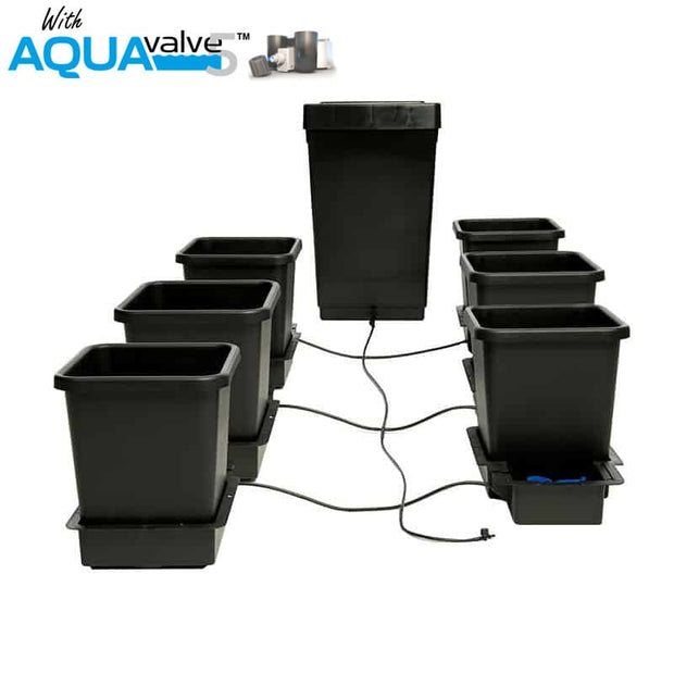 Autopot 6 Pot System AQUAValve 5 with 15L Pots and 47L Tank - Hydroponic Systems