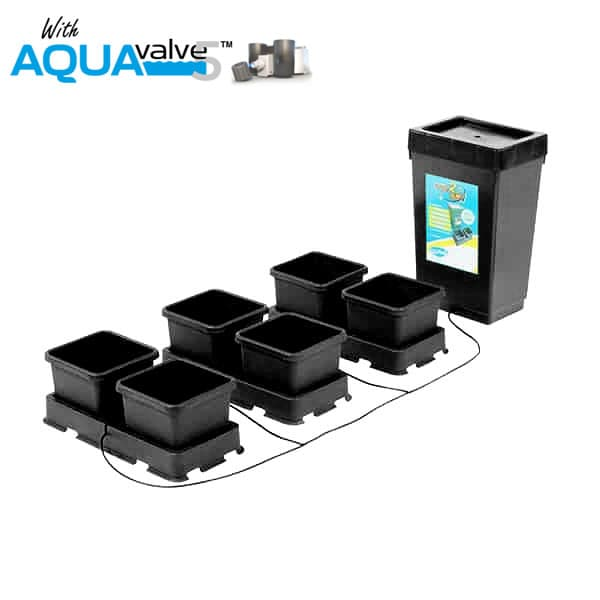 Autopot Easy2grow 6 Pot System AQUAValve5 with 8.5L Pots with 47L Tank - Hydroponic Systems