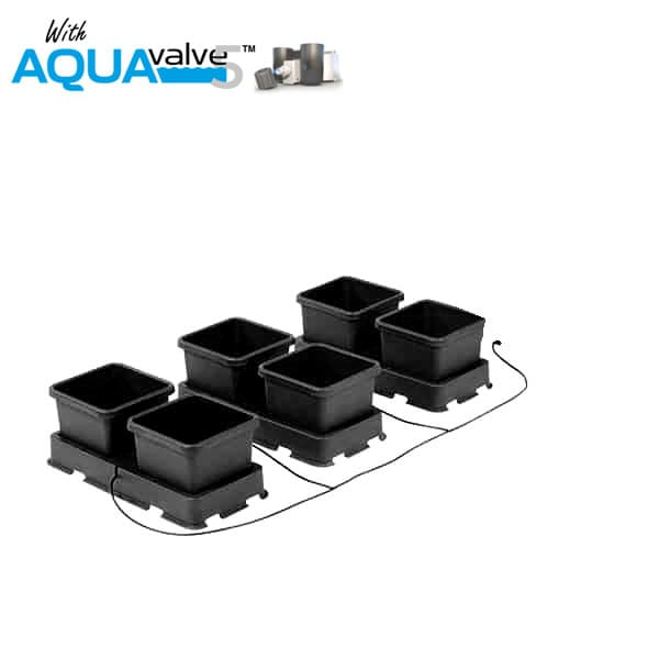 Autopot Easy2grow 6 Pot System AQUAValve5 with 8.5L Pots without Tank - Hydroponic Systems