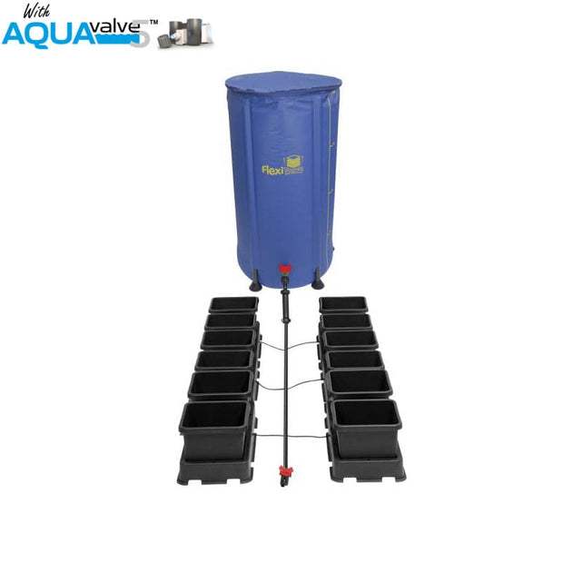 Autopot Easy2grow 12 Pot System AQUAValve5 with 8.5L Pots with 100L Tank - Hydroponic Systems