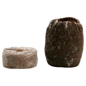 Jiffy 7C Coco Peat Pellets - Medium 50mm x 60mm Pellets - Pack of 45
