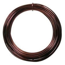 Bonsai Shaping Wire - Brown anodised aluminium - 1mm thick