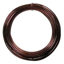 Bonsai Shaping Wire - Brown anodised aluminium - 4mm thick - 100 gram roll
