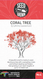Seed Grown Kit No.1 - Coral Tree - Erythrina lysistemon - Complete Tree Growing Kit
