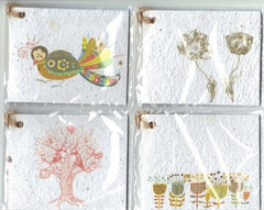 Growing Paper - Gift Tag Pack - 4 Gift Tags - Pack One