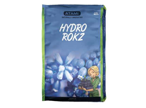 Atami Hydro Rokz (8-16mm) 40L Bag - Hydroponic Grow Mediums
