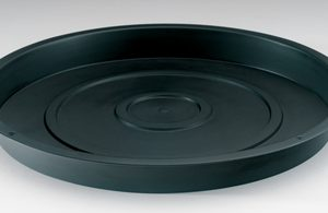 Black Round Trays / Saucers - Hydroponic / Soil Trays