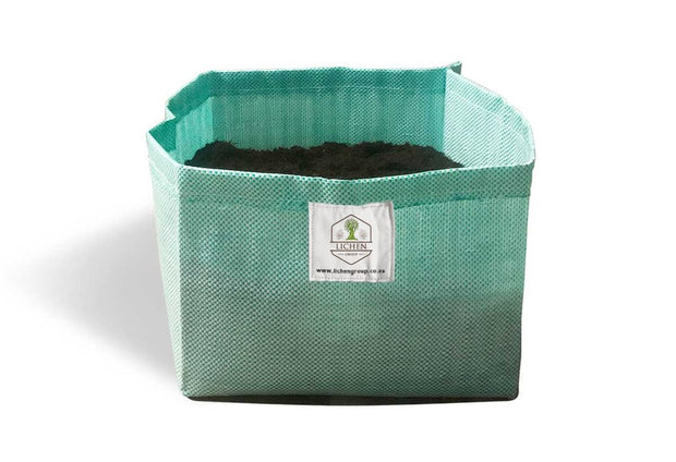 Lichen Polypropylene Fabric Grow Bags - Hydroponic / Soil Growing Bags