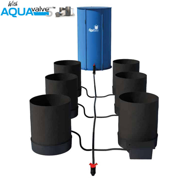 Autopot SmartPot 6 System AQUAValve5 with 100L Tank - Hydroponic Systems