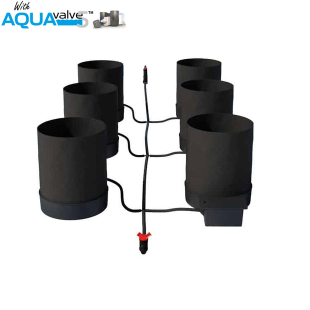 Autopot SmartPot 6 System AQUAValve5 without Tank - Hydroponic Systems