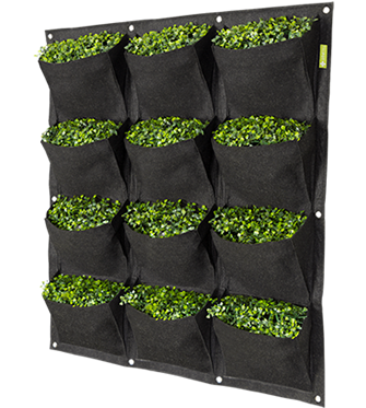 Garden HighPro Geotextile Fabric Vertical Grow Bag / Wall Pots