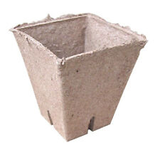Jiffy Professional Square Peat Pots - 8cm x 8cm - Pack of 10 Pots