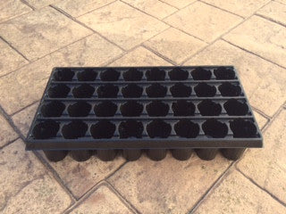 Jiffy Professional Growing Tray - 32 Cell for Large Seeds with Pellets