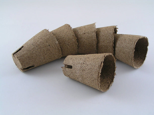 Jiffy Professional Peat Pots - 6cm x 6cm - Pack of 20 Pots