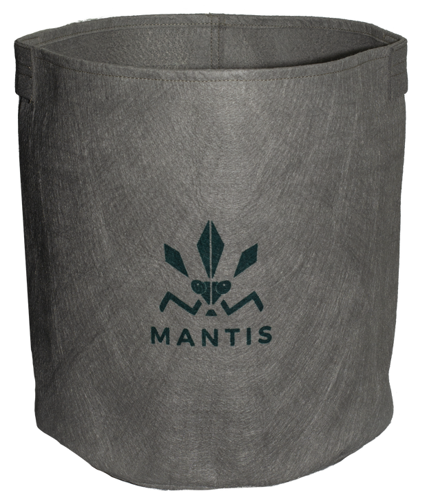 Mantis Geotextile Fabric Grow Bags / Pots with velcro side opening