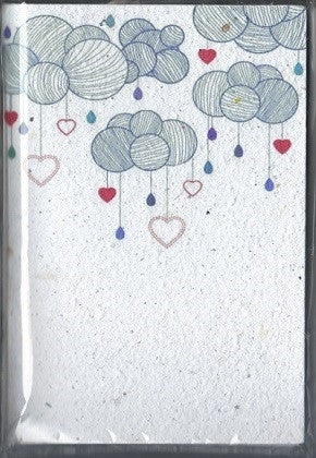Growing Paper - Notebook - Balloons