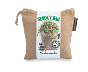 Microgarden Sprout Bag, Growing Substrate and Lentil sprouting seeds