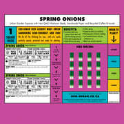 Gro-Urban - Square Foot Gardening Squares - Spring Onion