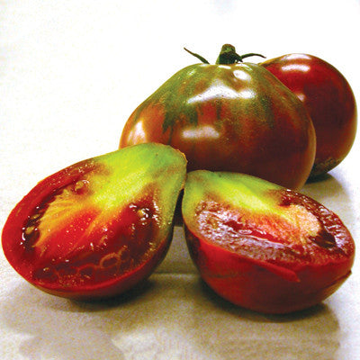 Japanese Black Trifele Tomato Heirloom Vegetable - Lycopersicon Esculentum - 10 Seeds - ORGANIC