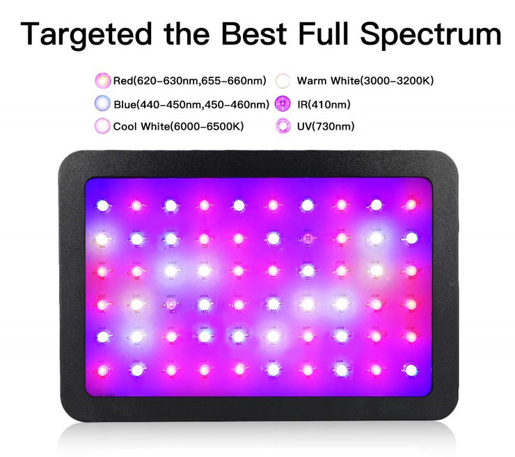 Urban Beam - Indoor Hydroponic Full Spectrum LED Light unit - 600W