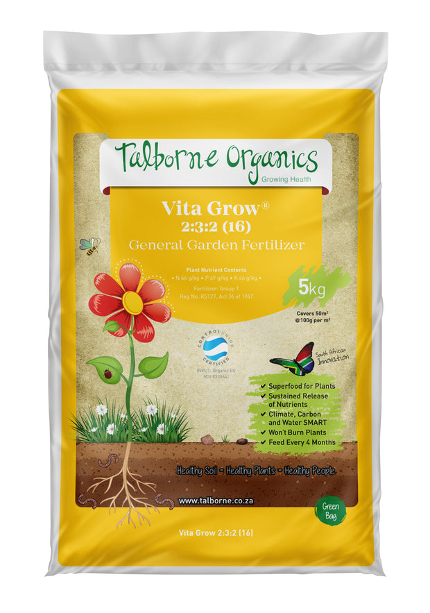 Talborne Organics - Vita Grow 2:3:2 (16) General Organic Fertilizer