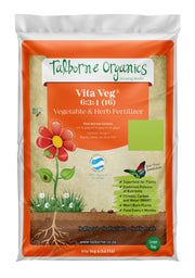 Talborne Organics - Vita Veg 6:3:4 (16) Vegetables, Herbs & Berries Organic Fertilizer