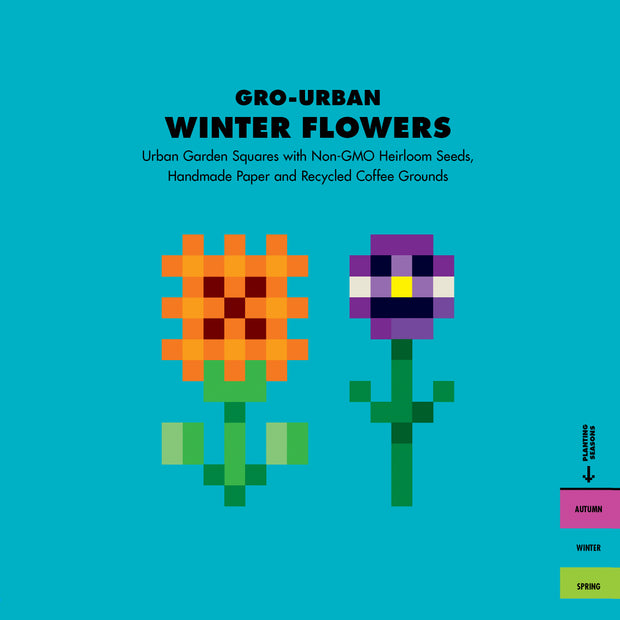 Gro-Urban - Square Foot Gardening Squares - Winter Flowers