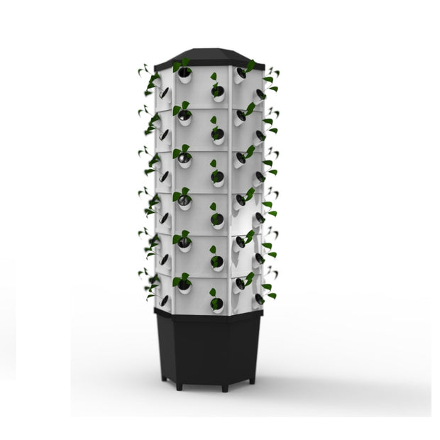 Aeroponic Tower System - 72 Pocket / 72 Plants - Aeroponic / Hydroponic Systems