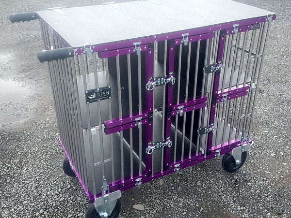 6 Berth Titan Dog Show Trolley