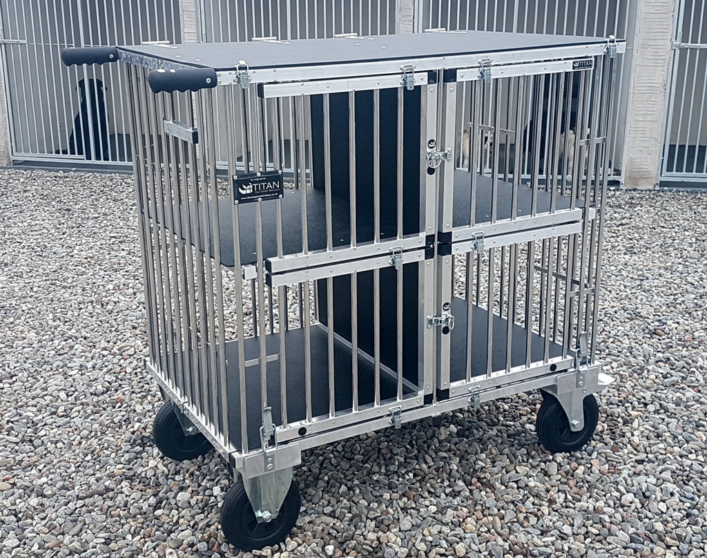 4 Berth GIANT Titan Dog Show Trolley – Juicy Pet Products