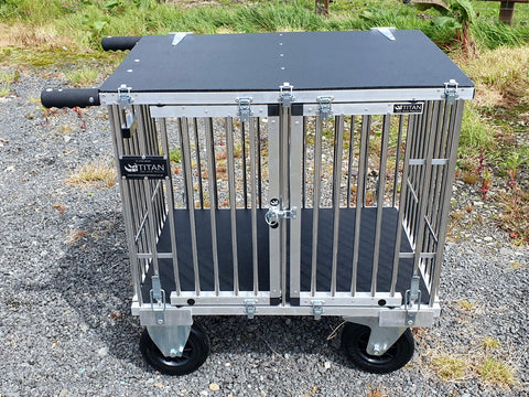 2 Berth SMALL Titan Dog Show Trolley