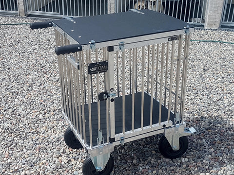 1 Berth SMALL Titan Dog Show Trolley