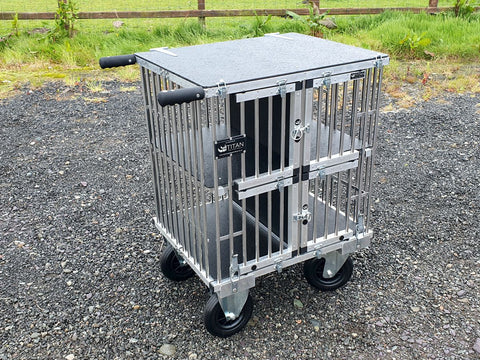4 Berth TOY DOG Titan Dog Show Trolley