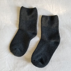 Main image: Le Bon Shoppe Cloud Socks CHARCOAL