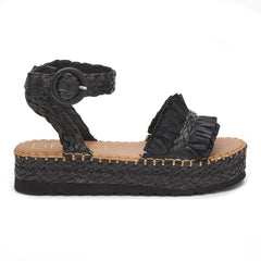 Main image: Seashore black raffia / 5 M