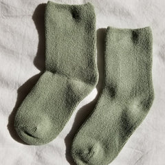 Main image: Le Bon Shoppe Cloud Socks Matcha