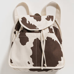 Main image: Baggu Drawstring Backpack BROWN SPOT / OS
