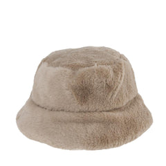 Main image: Fuzzy Bucket Hat TAUPE / 1PC M